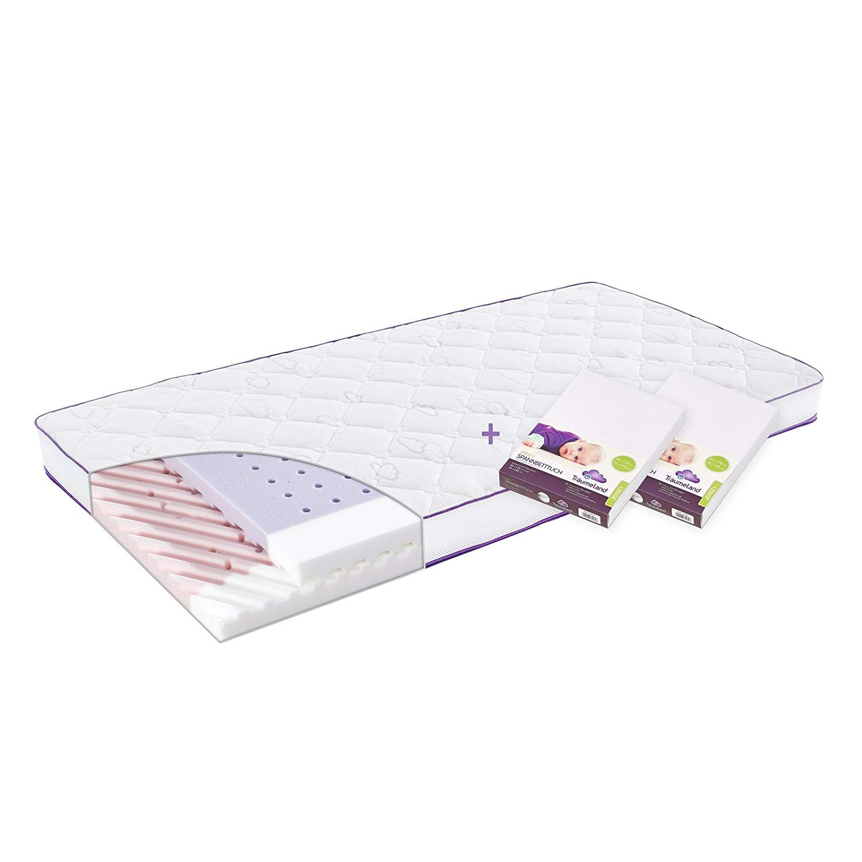 Träumeland Spannbetttuch für Babymatratze Jersey beige 60x120 70x140