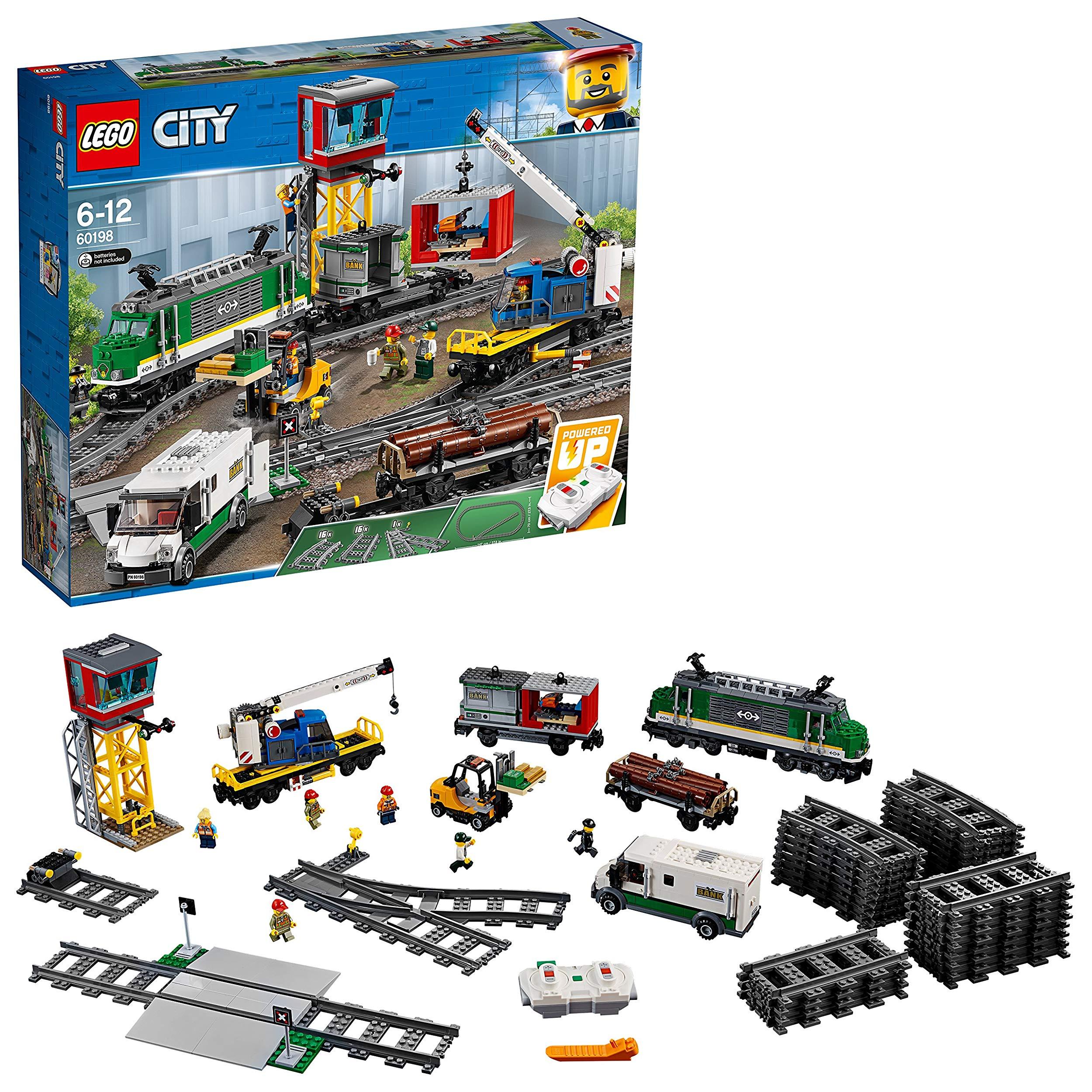 NEU BA ! Lego RC Eisenbahn TRAIN 60198 Zubehör LKW ! TRUCK CAR Fahrzeug