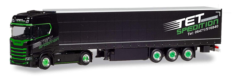 "Herpa 1:87 310413 Scania CS 20 HD Lowliner-Sattelzug /""Log-X I´m the best/"" CZ"