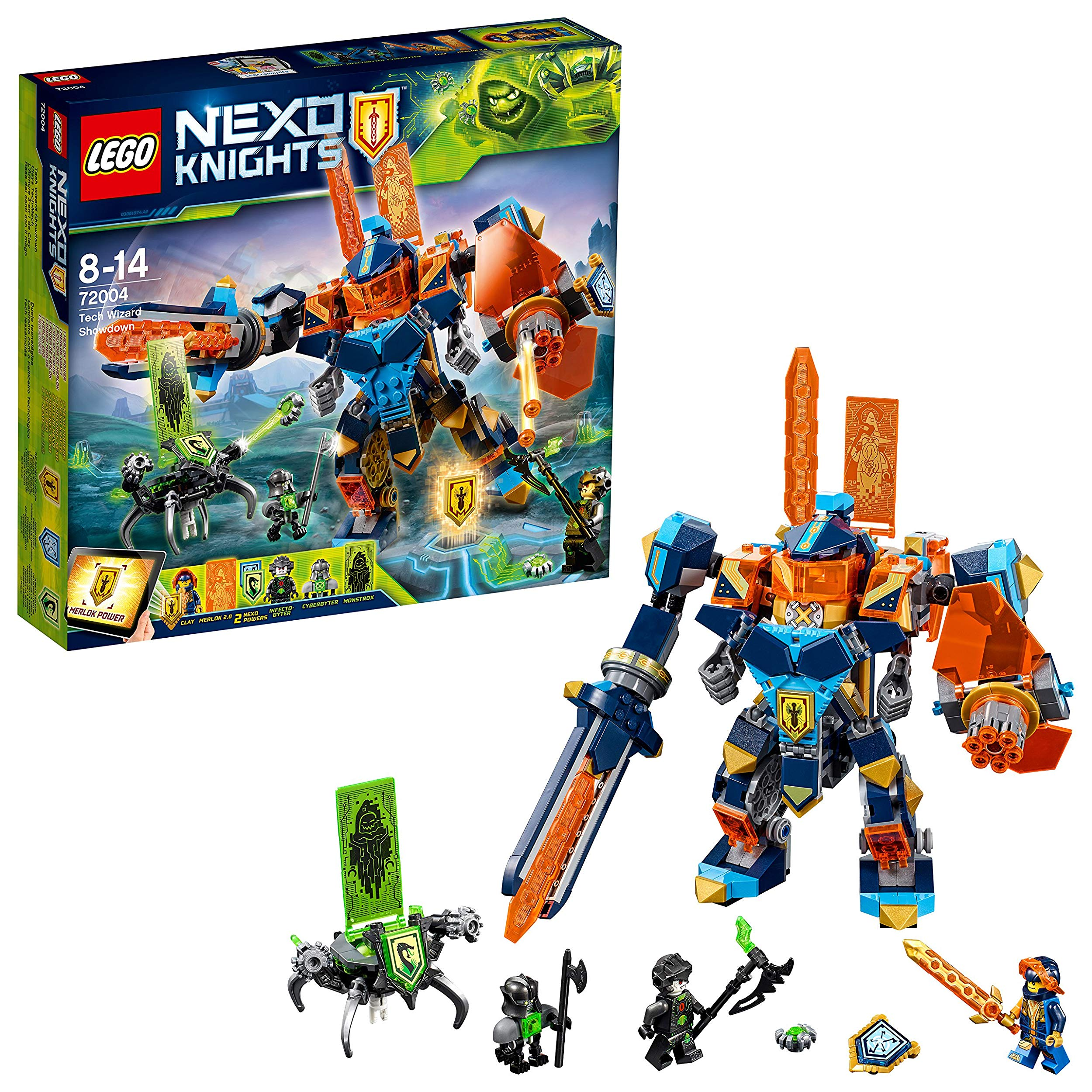 Neu Stone Giant with Flying Machine Backpack Lego Ritter Nexo Knights Figur